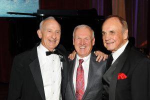 Ernest Rady, Ron Roberts, Dick Enberg